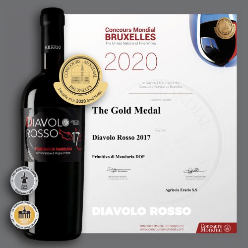 diavolo rosso_gold medal